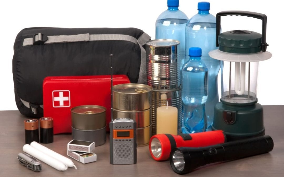 safety essentials for the home include a well-stocked disaster kit
